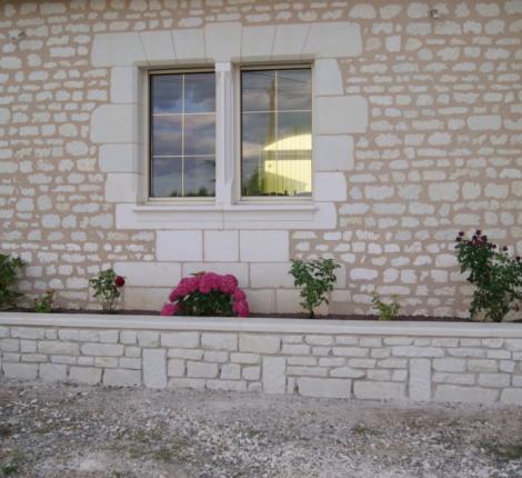 Mur en pierres rénové par BPNR en Indre et Loire (37)