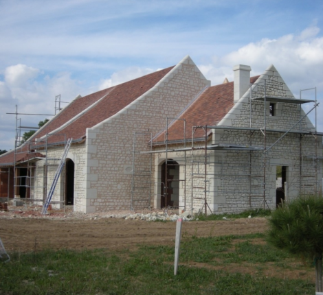 Rénovation de maison en pierre par BPNR en Indre et Loire (37)